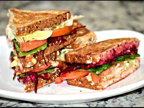 Vegetarian Chickpea Sandwich |  Vegetarian Tuna Salad Sandwich | Easy Healthy Lunch Ideas
