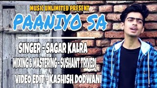 Paniyon Sa    satyamev jayate   atif aslam   Sagar Kalra   lyrics   Music-Unlimited