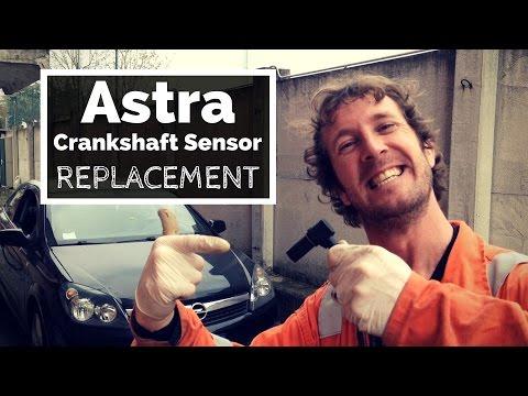 Astra Crank Sensor Replacement. Easy DIY Tutorial.