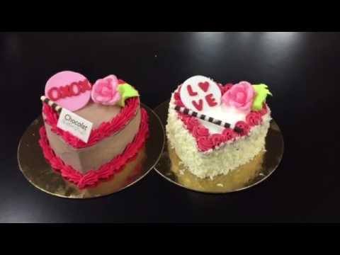 Saint -Valentin cakes