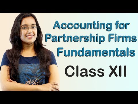 Profit & Loss Appropriation A/c - Accounting for Partnership Firms Fundamentals (Accounts Class 12)