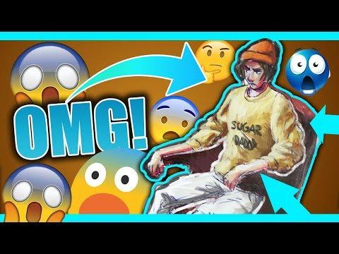 Dumbass Digital Artist Fails At Traditional Art