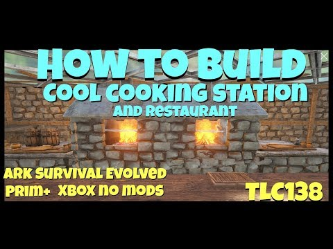 How To Build a Cool Looking Grill/Oven on Ark Survival Evolved
