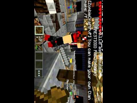 Minecraft pe 0.11.0 server gameplay ip adres