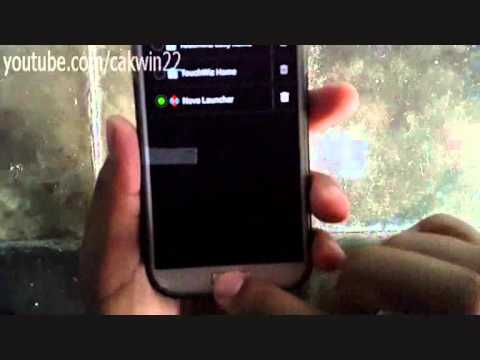 Samsung Galaxy S4: How to settings default app