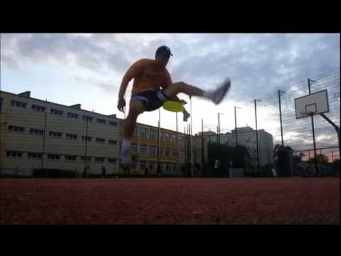 Frisbee freestyle - not as lazy as usual - jam 4