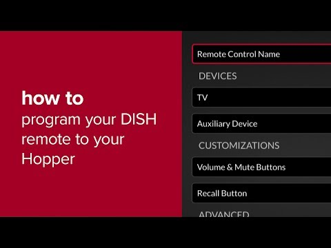 Pair Your DISH Remote to Your Hopper