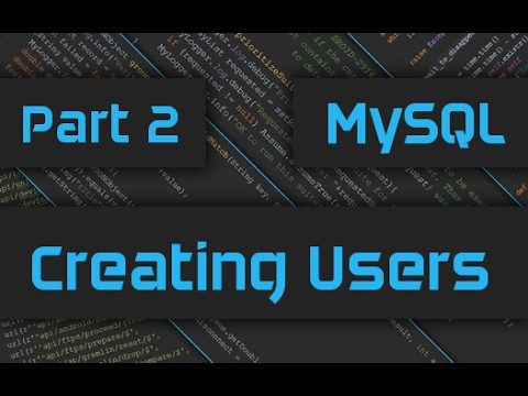 How to Create or Add Users in MySQL