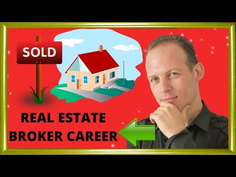 How to start a career in real estate as a real estate agent or broker