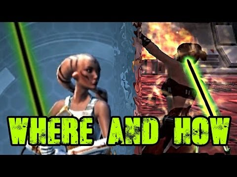 SWTOR Black-Green Color Crystal Vendor & How To Get
