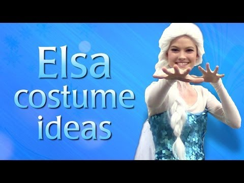 Make your own Queen Elsa from Frozen - Cosplay Costume Ideas