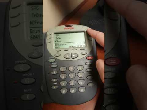 Avaya - Call Forwarding