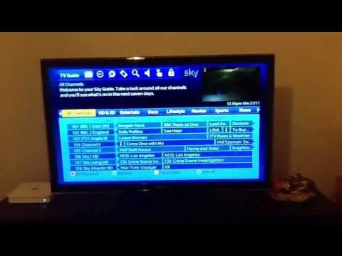 Sky HD how to get BBC iPlayer