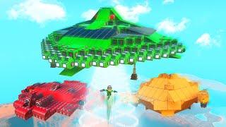 Building Alien Ufo's Challenge! (trailmakers)