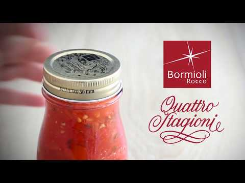 BORMIOLI ROCCO - CANNING OF QUATTRO STAGIONI JARS BY HEAP SENG GROUP