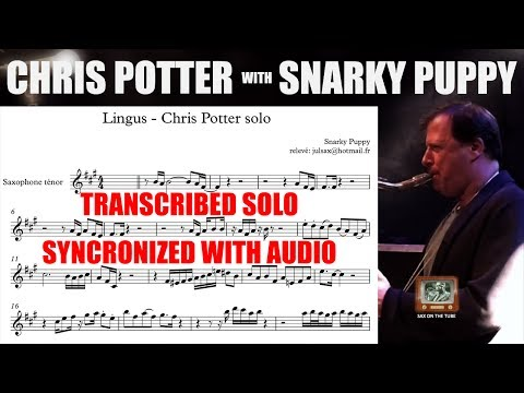 TRANSCRIPTION of Chris Potter's SOLO with Snarky Puppy on