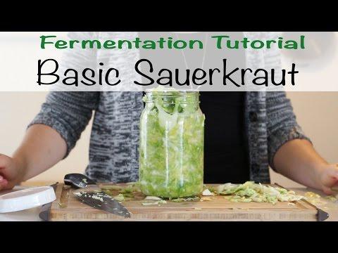 Fermentation Tutorial - Basic Sauerkraut