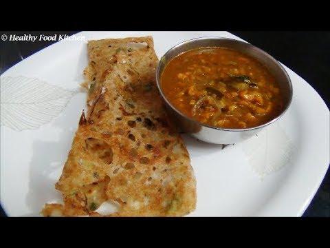 Crispy Dosa Recipe in Tamil -Crispy Wheat Rava Dosa Recipe-Instant Broken Wheat Rava Dosa Recipe