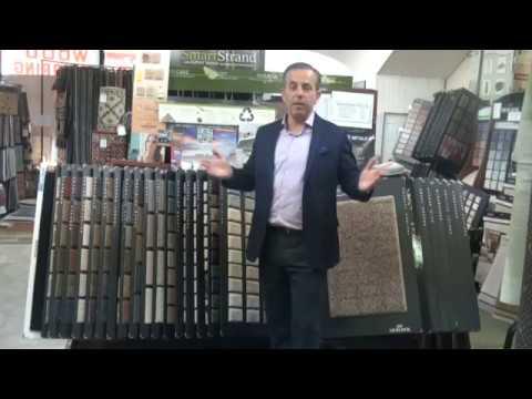 Different types of carpet fibers