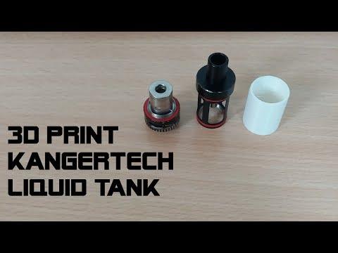 3D PRINT KANGERTECH LIQUID TANK