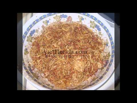 Banana Blossom Salad - GOI BAP CHUOI