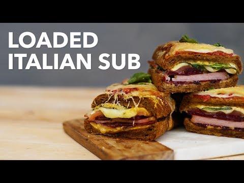 Loaded italian sub  BA Recipes]