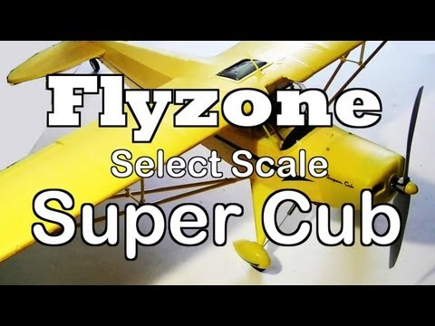 Flyzone Select Scale Super Cub Rx-R Review and Test Flight