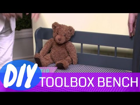 DIY Toybox Bench | How to Make a Toybox Bench