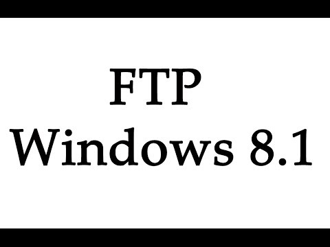 How to Setup an FTP Server in Windows 8.1