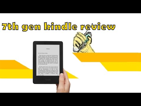 7th gen kindle 2 mins unboxing+review india!