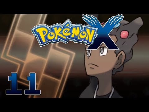 Let's Play Pokemon X Part 11 Gym #2: Grant Cyllage City - Gameplay Walkthrough
