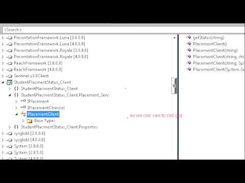 Part 2 - Consuming WCF Service in .NET Client  using WSDL file