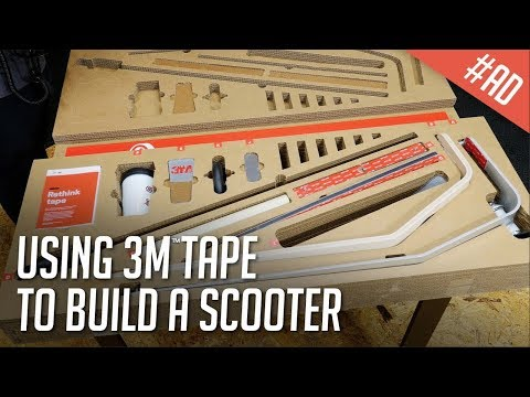 Testing 3M(TM) VHB(TM) Tape to Build a Scooter (#Ad)