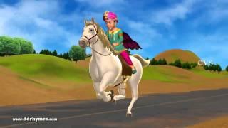 Chal Chal Gurram - 3D Animation Telugu Nursery rhymes for children with lyrics