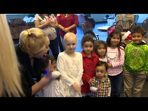Birthday girl donates all her gifts to children in need