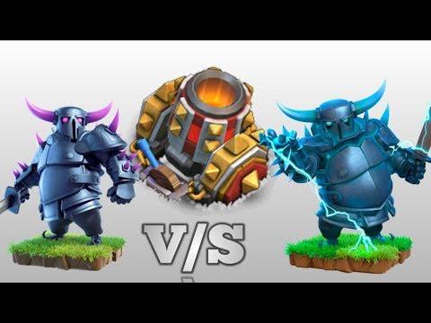 Mortar V/S Pekka | Mortar V/S Super Pekka | Special Ability Of Super  Pekka | Clash Of Clans.