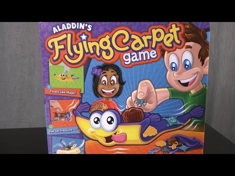 Aladdin's Flying Carpet Game from Goliath Games