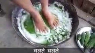 Click Here for Details : http://tinyurl.com/jne2bjr For Diabetes Control Tips  Natural Cure for Type2 Diabetes (Hindi)  The Narrator explains to make the juice of bitter-gourd , a common vegetable used in day-to-day Indian Main course,  put the juice in a wide bucket, then immerse your feet in the juice and keep paddling very softly on the juice for about 15-30 mins., EVERYDAY for minimum 20-25 days. The duration to soak the feet in the juice is till when you feel the bitterness spit all the way to your tongue. yes, you read it rite, the bitter-ness feeling will rise from your feet all the way to your throad...giving you a bitter feeling..as if you just had raw bitter-gourd. this is a proven & tested method to reduce blood sugar level upto 100-150 points.  this method is 100% natural cure for Type2 Diabetes patients. over hundred people have reported they got cured 99% by applying to this method. However, to get maximum benefit from this method, it is also suggested to : 1. Drink Bitter-gourd juice - half glass everyday - early in the morning, immediately after you are awake - before you even brush your teeth.  2. Routine physical activity - like walking / slow jogging - for atleast 20-30 minutes. 3. Having enough Sleep - minimum 7 hours. 4. Sleeping Early - latest at 10pm and waking up early.  5. Avoid sleeping late. if you have any work (personal or official) which you need to finish,  better wake up early and do it. this way, your body will thank you and you will help to focus more on your task.   Before applying to this method, test your blood sugar, keep a record of it, then test every three days and see the difference.   This method will also show good results for people with Type1 Diabetes,  the blood sugar level decreased significantly after applying to this method.   please do apply the above described method in your routine and please share your comments/critics here.   **the origin of the video is unknown, I got this video forwarded from a friend, if you are the owner of the video, please message me to give credits with respect**  God Bless with a healthy and long life.  Warning: The viewer/reader of this video/documentation should exercise all precautionary measures while following instructions on the home remedies from this video. This information is solely for informational purposes. IT IS NOT INTENDED TO PROVIDE MEDICAL ADVICE and should not be treated as a substitute for the medical advice of your own doctor.