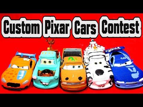 Pixar Cars Contest pick your favorite Pixar Cars Custom Car