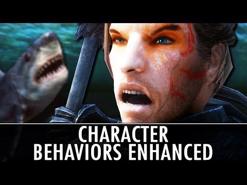 Skyrim Mod: Character Behaviors Enhanced