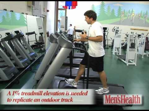 Burn More Fat and Calories on a Treadmill - Men's Health Minute