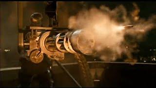 Top 10 Minigun & Gatling Shooting Scene Compilation