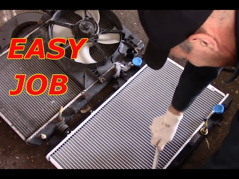 How To Replace A Radiator On A Honda