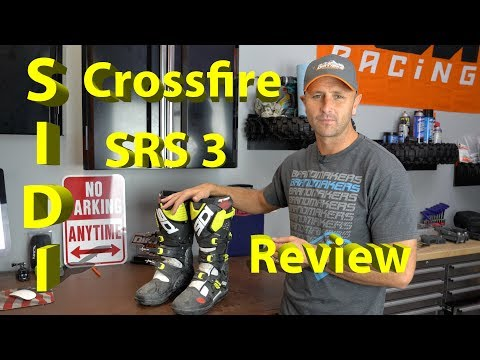 Sidi Crossfire 3 SRS Dirt Bike Boot   Product Review