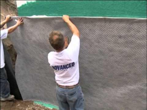 Rub-R-Wall Waterproofing on ICF Foundation