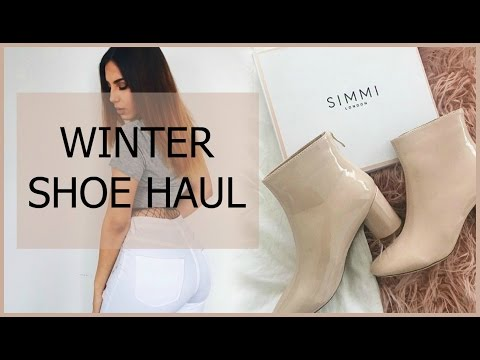 Sexy & Affordable Winter Shoe Haul (SIMMI SHOES) 2017
