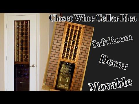 How To Build A Wine Cellar Closet
