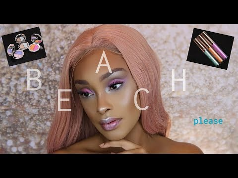 OMG! IT'S EXPENSIVE BUT IS IT WORTH IT?! FENTY BEAUTY BEACH PLEASE COLLECTION REVIEW