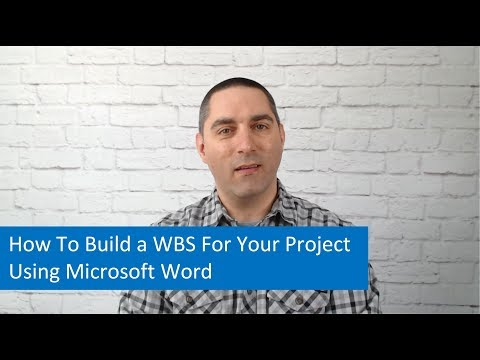 Project Management Tips: How To Build a WBS For Your Project Using Microsoft Word