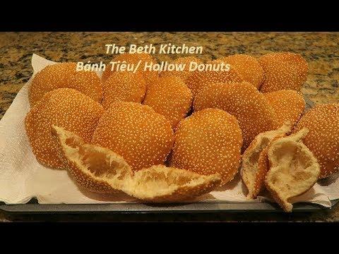 Cách làm Bánh Tiêu công thức Tiếng Việt_ Bánh Tiêu_ Hollow Donuts